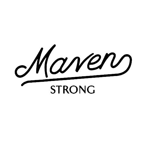 Maven Strong Fitness gym Logo