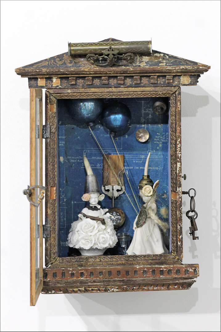 music boxes; assemblage