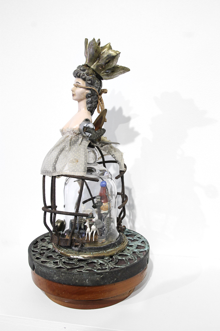music box; assemblage
