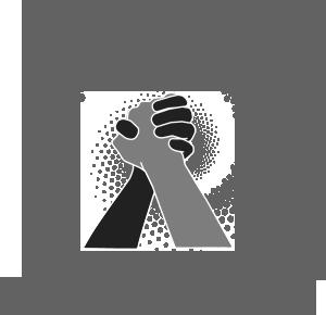 Breathe logo grayscale