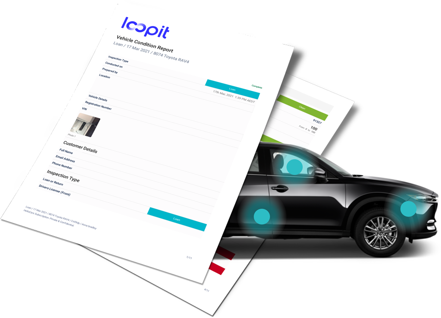 Loopit Free Vehicle Condition Report Template