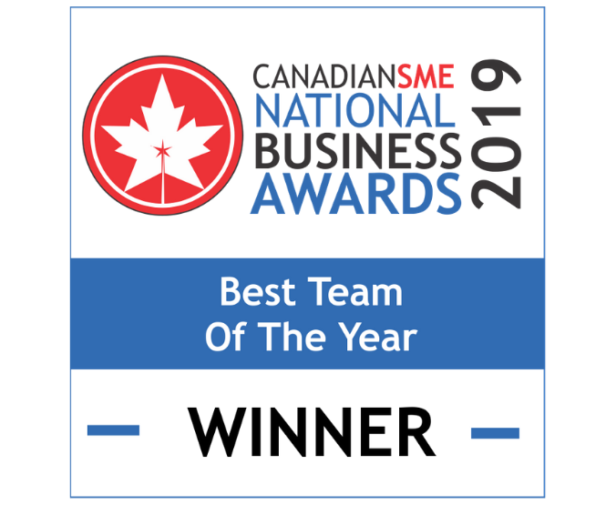 Canadian SMEs National Business Awards 2019