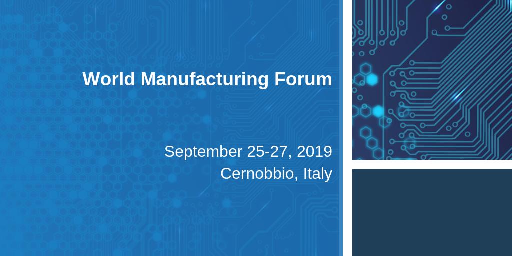 2019 World Manufacturing Forum