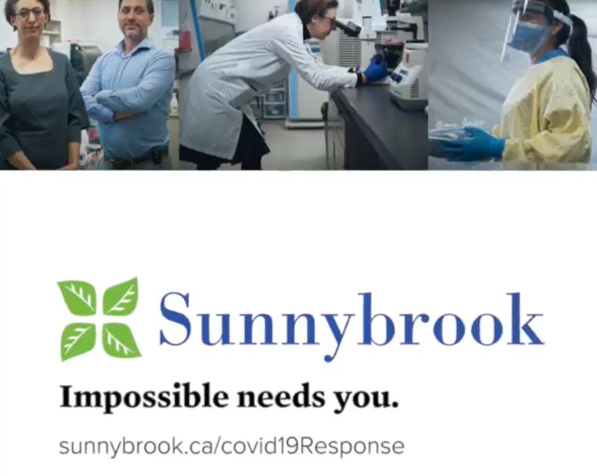Sunnybrook COVID-19 Response Banner