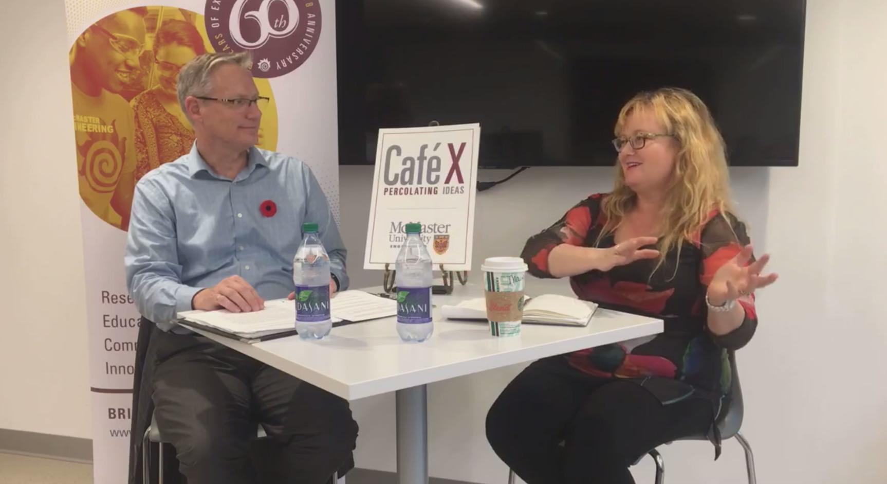 Café X:  Percolating Big Ideas with Irene Sterian