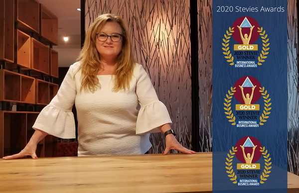 Congratulations to REMAP's Founder, President & CEO, Irene Sterian, a three-time GOLD winner at the 2020 International Business Awards for her contribution and leadership in Canadian manufacturing.