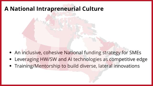 A National Intrapreneurial Culture