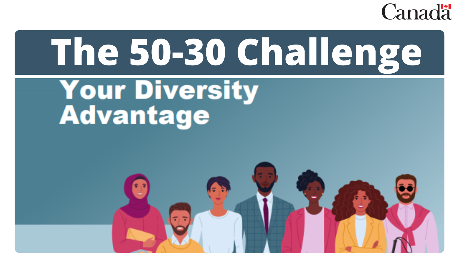 We mark International Women's Day with a challenge to all Canadian organizations to increase the representation of diverse groups within their workplace.