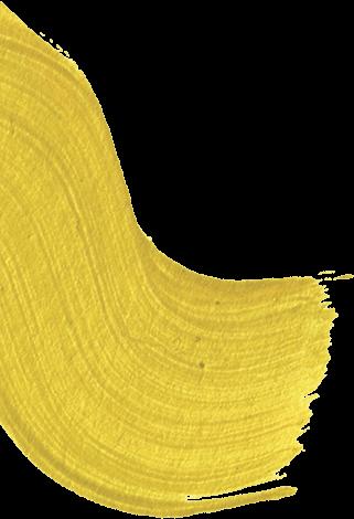 retazo de pintura amarilla