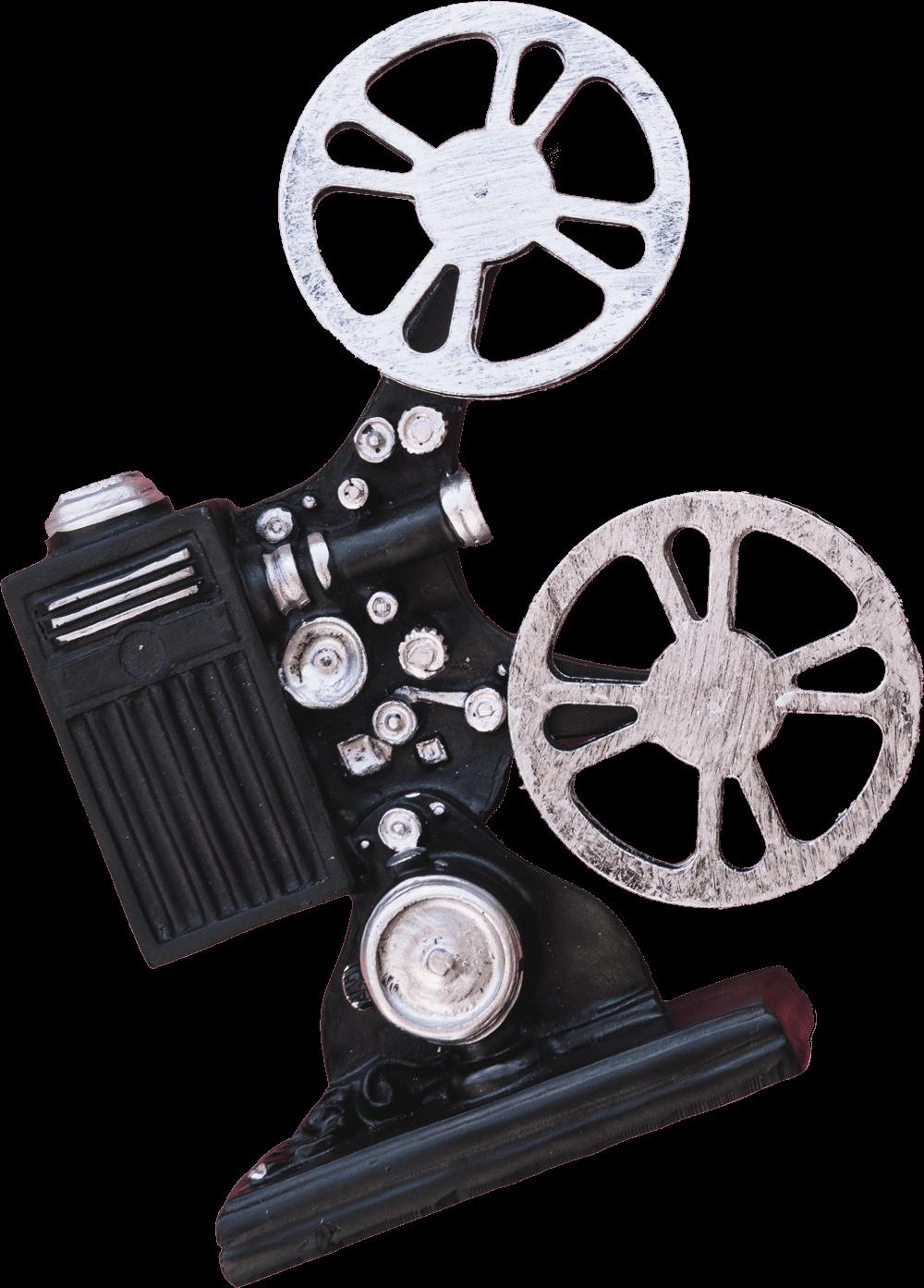imagen de camara cinematrográfica clásica