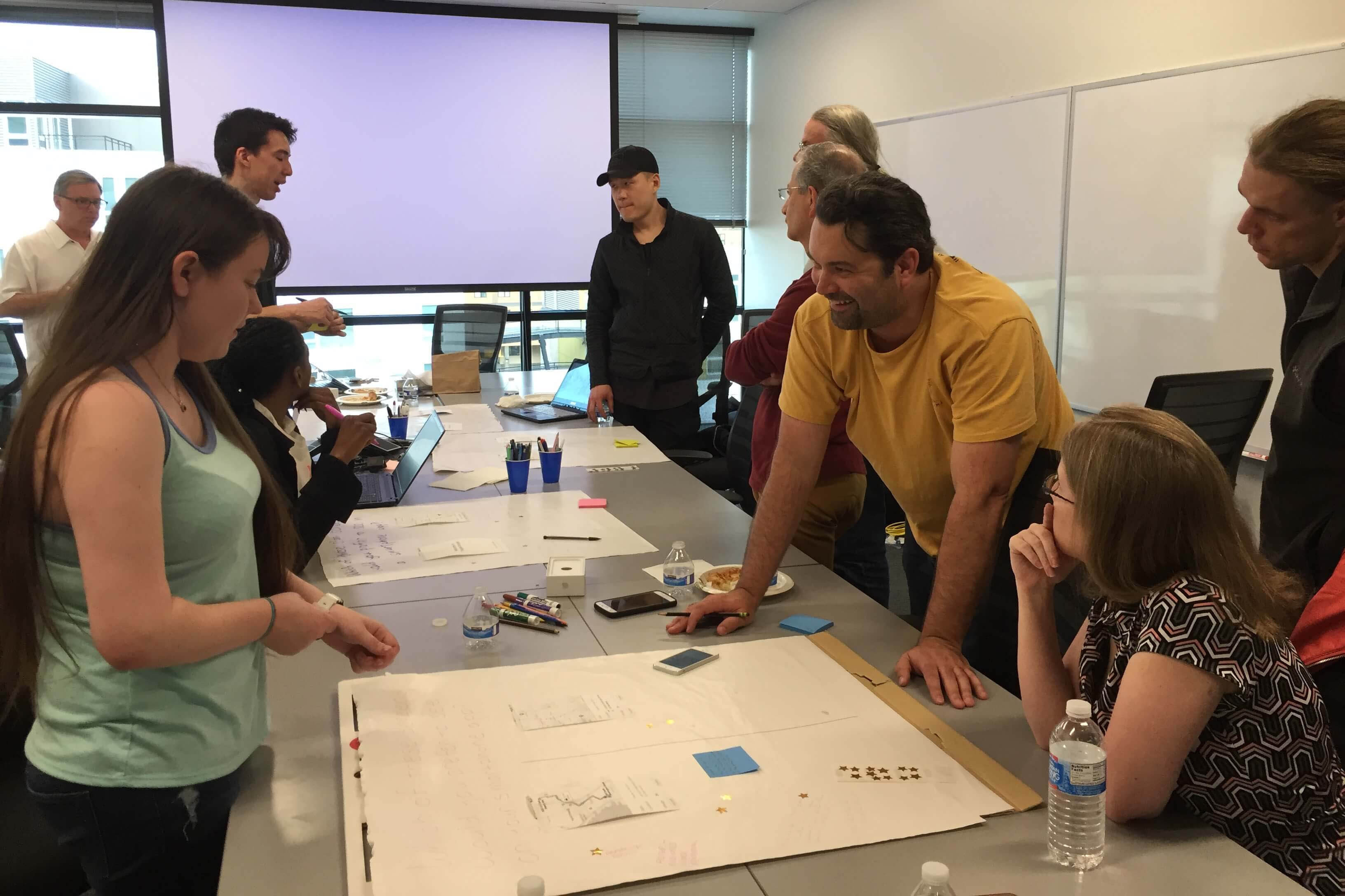 Design exercises and ideation with WA drivers