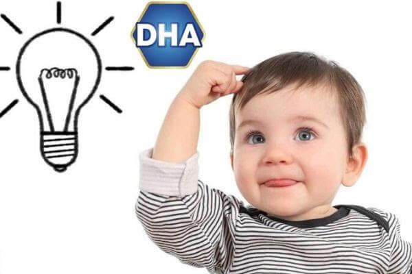 DHA giúp trẻ thông minh hơn, phát triển trí tuệ hoàn thiện