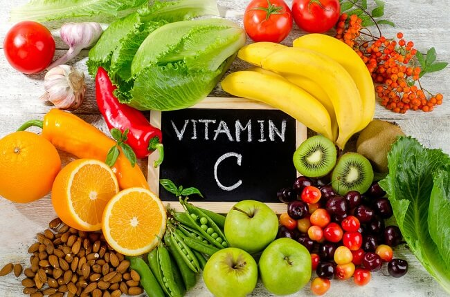 Bổ sung Vitamin C giúp tăng cường khả năng hấp thu kẽm