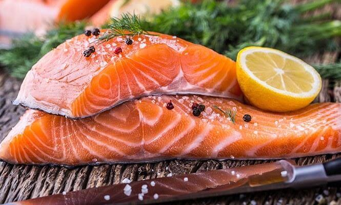 Thịt cá hồi không những thơm ngon mà có bổ dưỡng