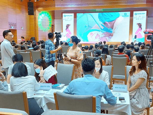 Fitobimbi đồng hành cùng Hội thảo thai sản BVĐK Phương Đông