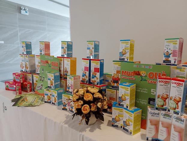 Gian hàng của nhãn hàng Fitobimbi Sơ sinh tại Hội thảo