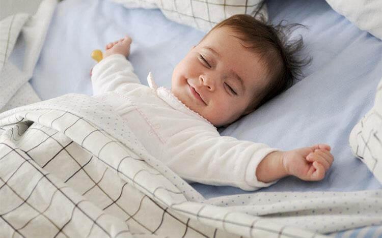 cách giúp bé ngủ ngon sâu giấc