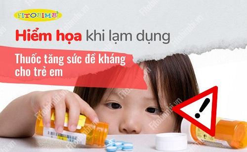thuốc tăng sức đề kháng cho trẻ