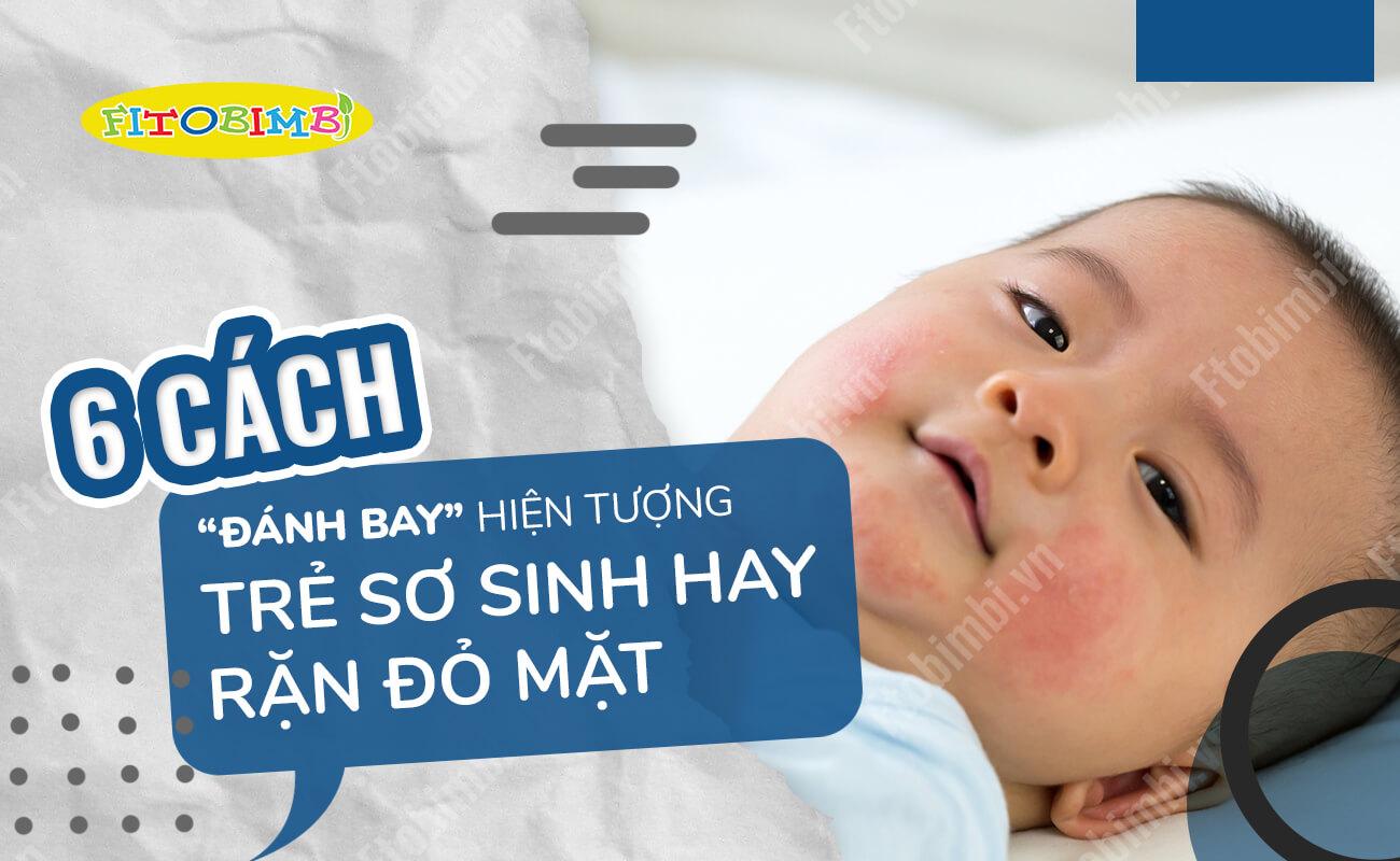 trẻ sơ sinh hay rặn
