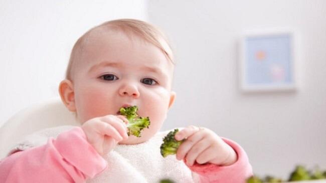 Cách khắc phục tình trạng trẻ ăn dặm bị táo bón
