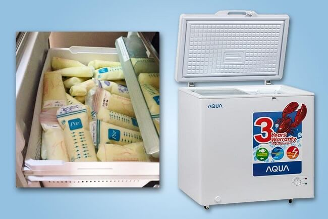 Tủ trữ sữa chuyên dụng Aqua