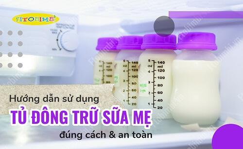 tủ đông trữ sữa mẹ