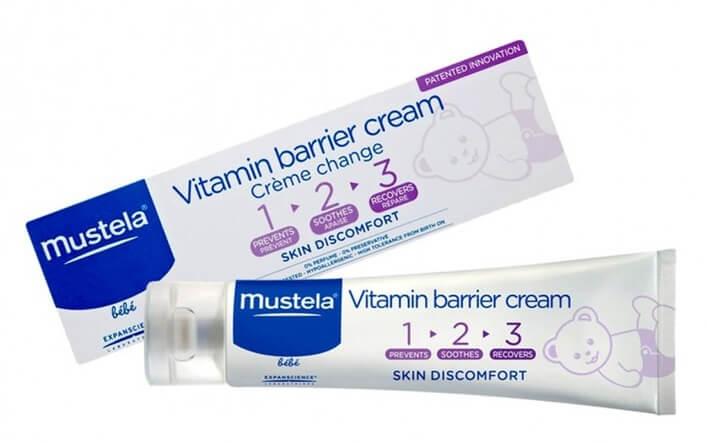 Kem trị hăm tã trẻ sơ sinh Mustela
