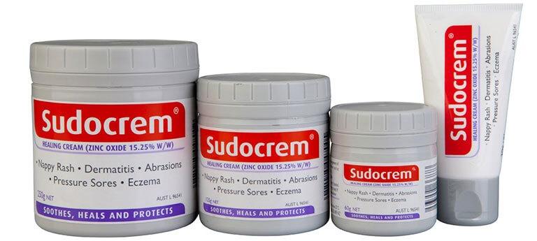 Kem trị hăm tã cho bé sơ sinh Sudocrem