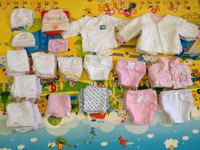 Danh sách đồ sơ sinh cần mua cho bé yêu trước khi sinh