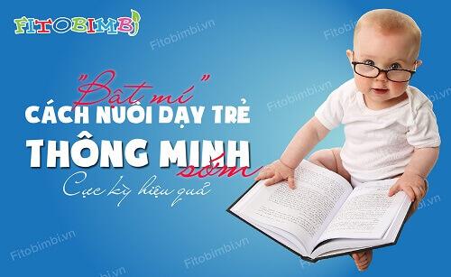 dạy trẻ thông minh sớm