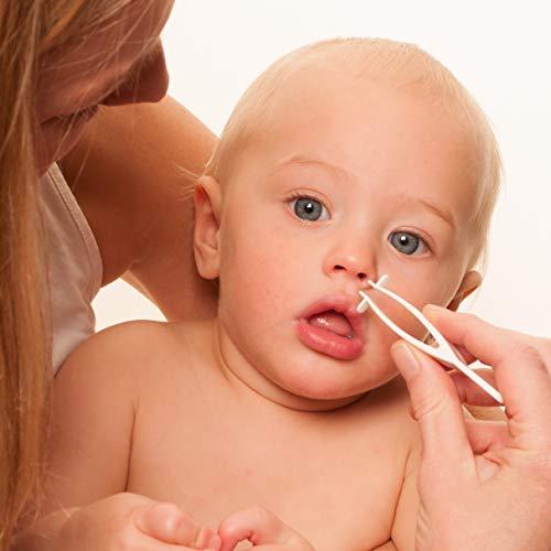 Nhíp có ưu điểm có thể gắp gỉ mũi cứng dễ dàng, nhanh chóng.