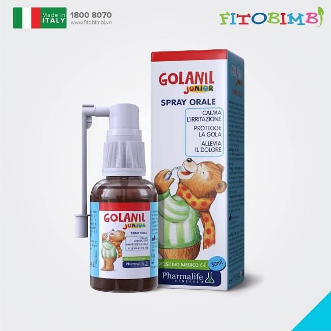 Golanil Junior - Một trong những siro ho có nguồn gốc từ thảo dược được các mẹ tin dùng