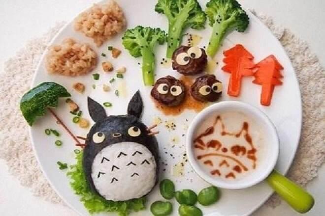 Totoro đáng yêu cùng bạn hàng xóm