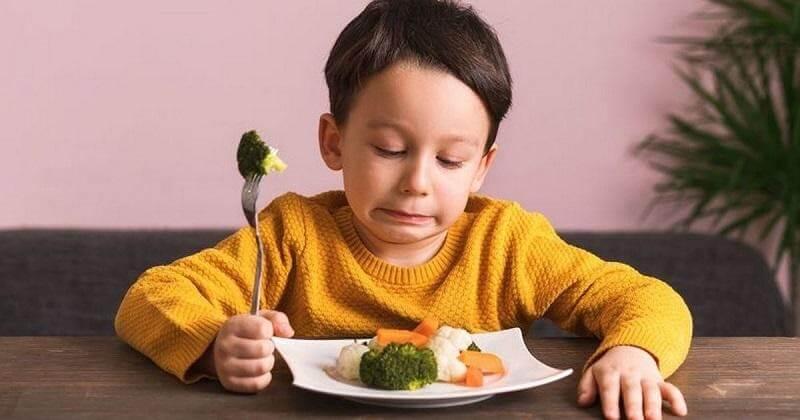 Trẻ em thường kén không ăn rau