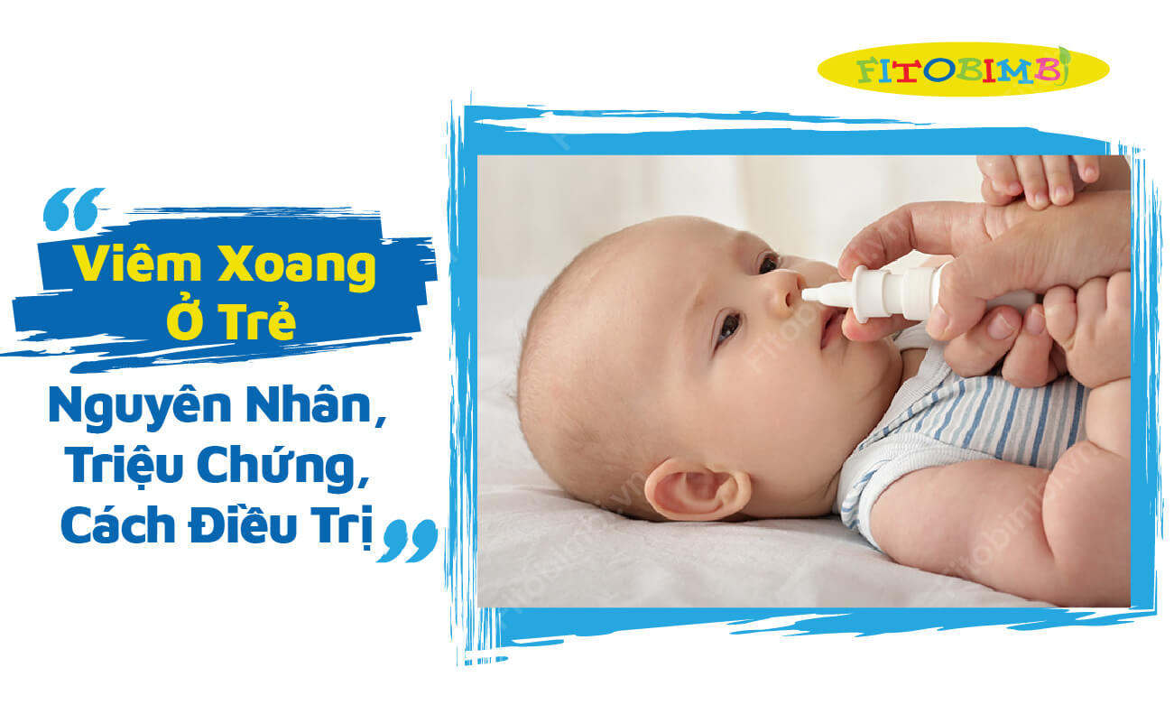 viêm xoang mũi ở trẻ em