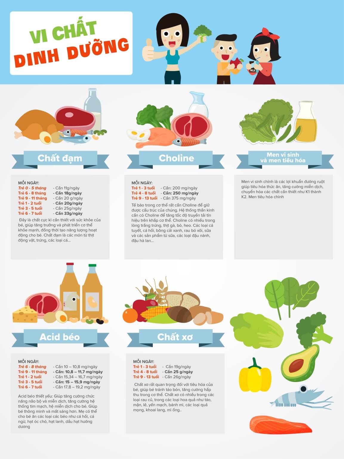 vi chất dinh dưỡng khác