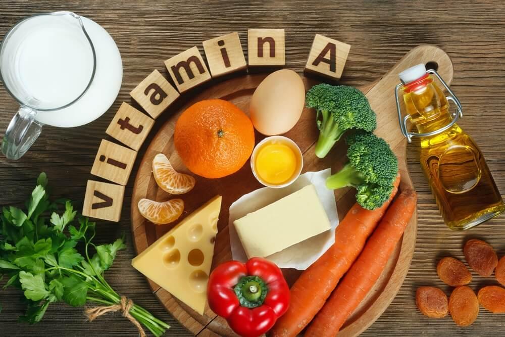 Bổ sung vitamin A cho trẻ qua nguồn thực phẩm là thực vật và động vật