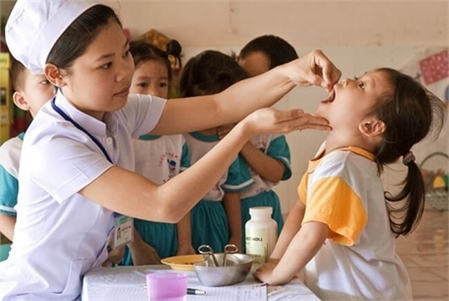 Nên mua vitamin a cho trẻ em tại cơ sở khám, chữa bệnh uy tín