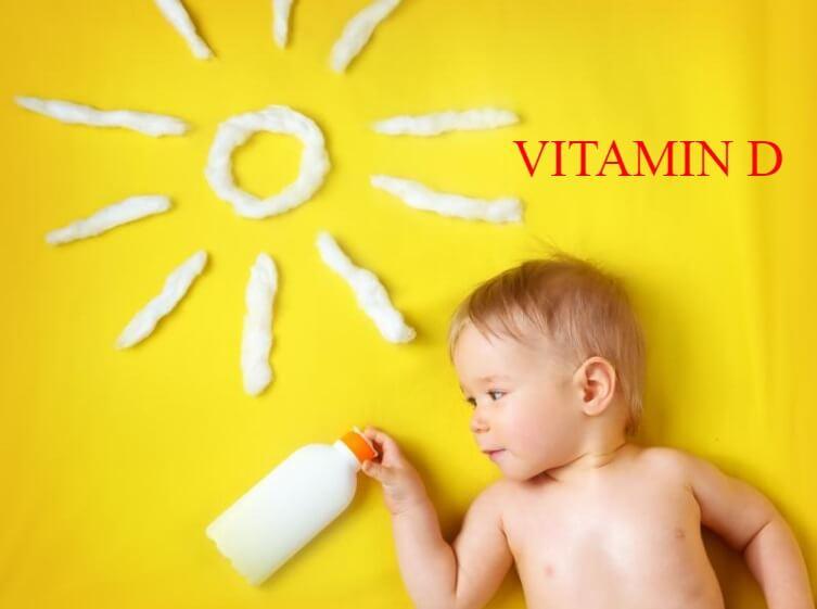 Ánh nắng mặt trời là nguồn Vitamin D dồi dào cho trẻ