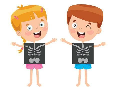 Trẻ cần vitamin D3 và K2 để hình thành và phát triển hệ xương