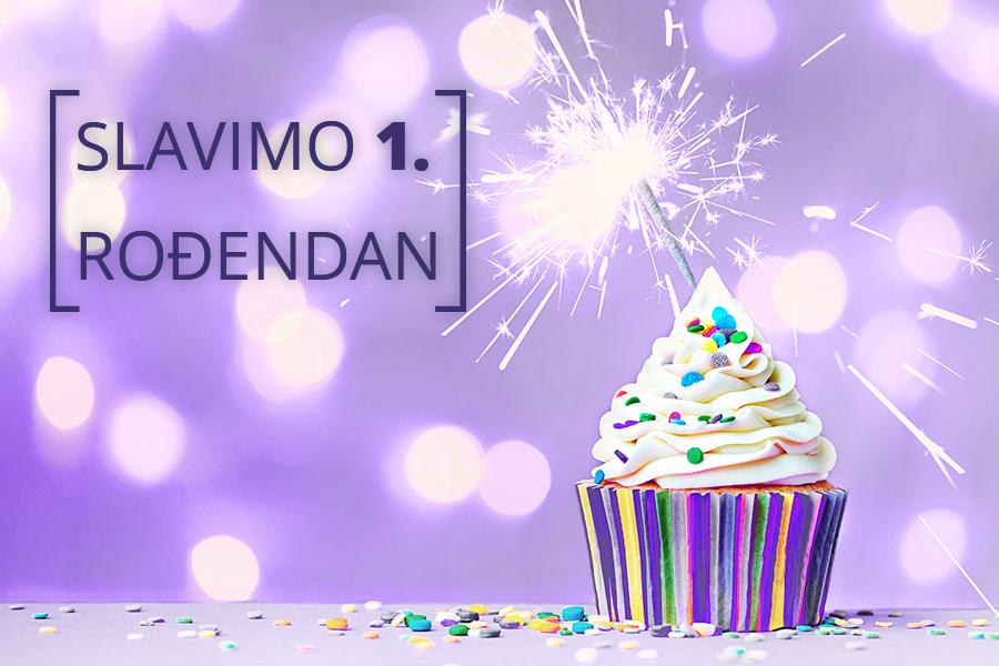 Zoyya slavi prvi rođendan