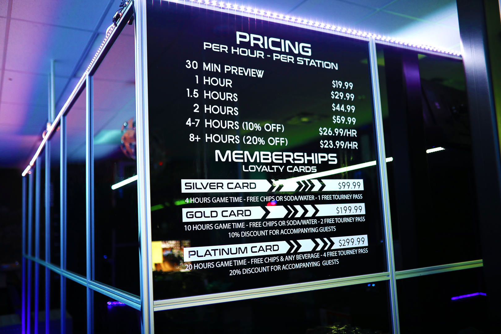 Old iSimu VR Pricing