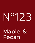 No 123 Maple & Pecan