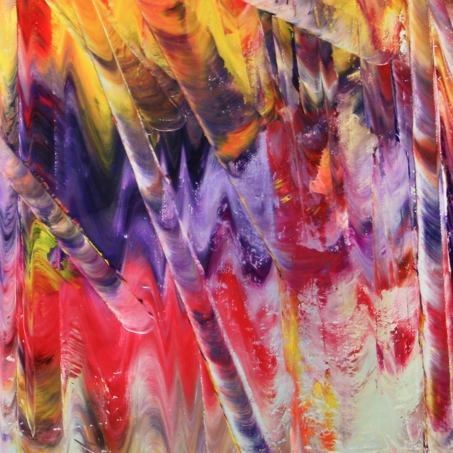 olio su tela 100x90 cm