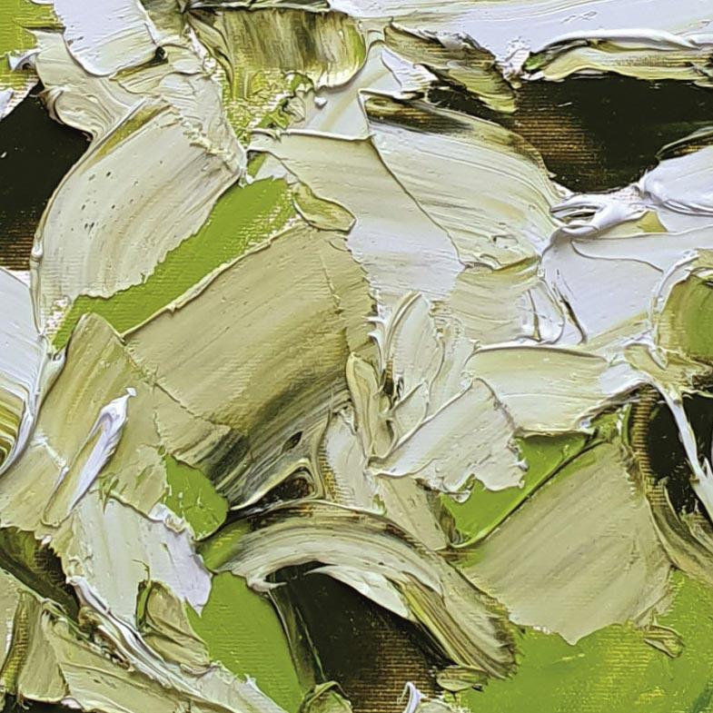 olio su tela 40x40 cm