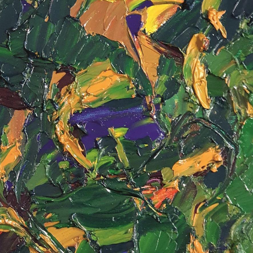 olio su tela 35x35 cm