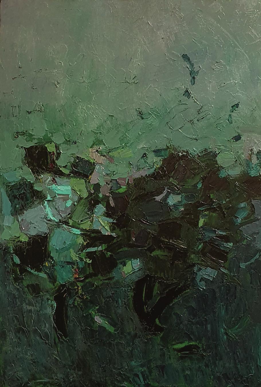 olio su tela 100x70 cm