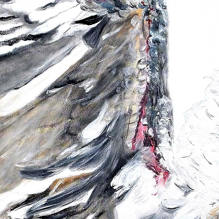 olio su tela 70x80 cm