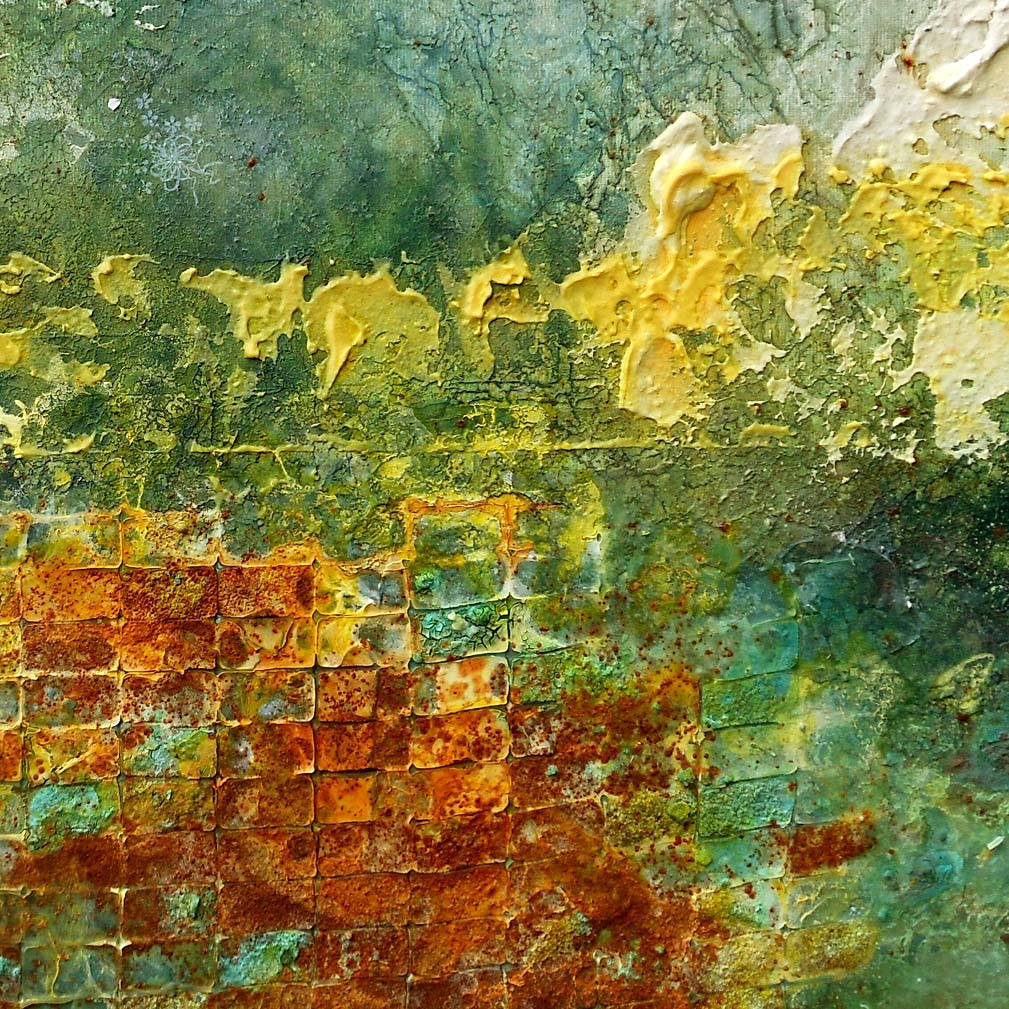 terre, ossidi e scrilico su tela 70x50 cm