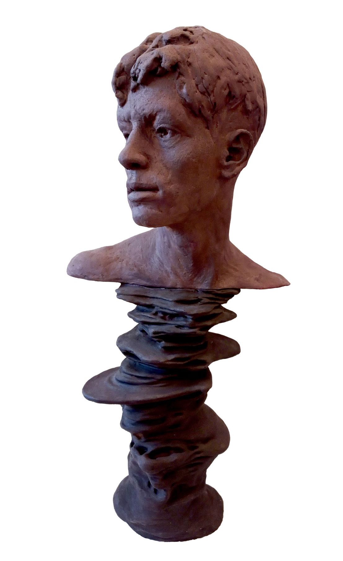 terracotta e mordente da legno 100x60x50 cm
